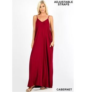Dresses & Skirts - ✨JUST IN✨ CABERNET CAMI MAXI DRESS